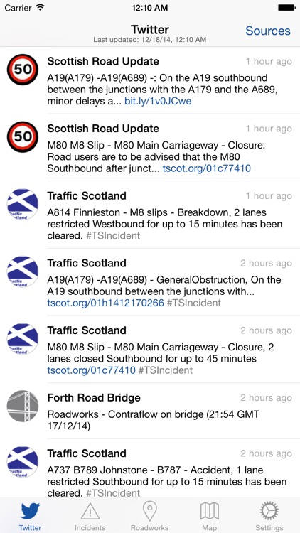 Traffic Scotland screenshot-0