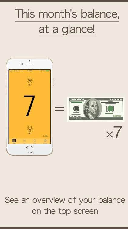 Pocket Money - budget app -