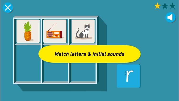 Montessori Letter Sounds - Phonics in English, Spanish, French, German & Italian