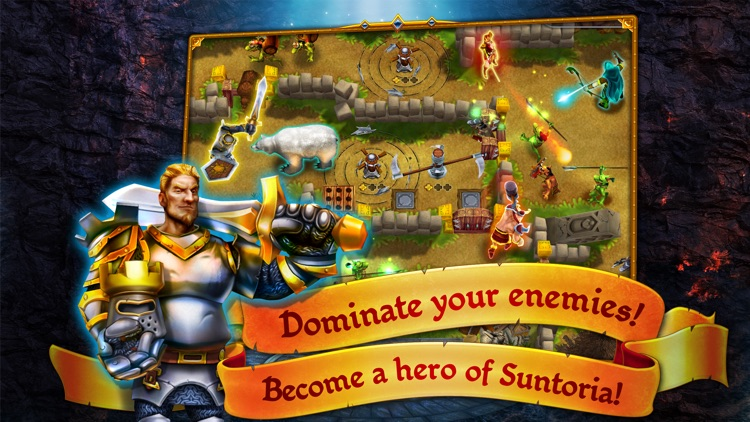 Defenders of Suntoria: Dark Sun screenshot-4