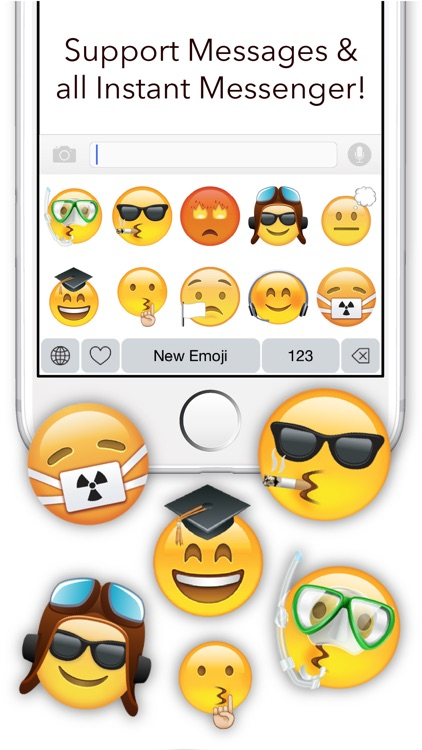 New Emoji - Extra Emojis Keyboard