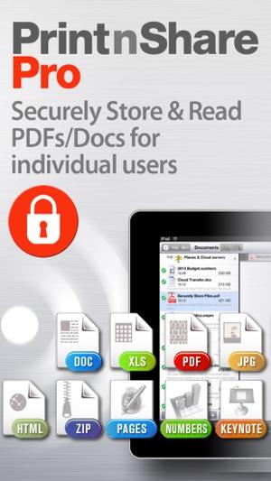 Print n Share Pro for iPhone Screenshot
