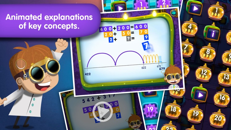 Electric Sums - Lumio Addition & Subtraction screenshot-3