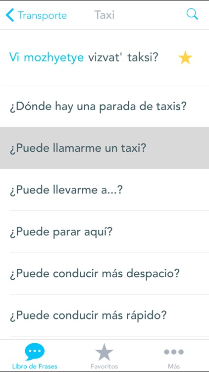 Offline Spanish to Russian Translator for Travelers and Tourists screenshot-4