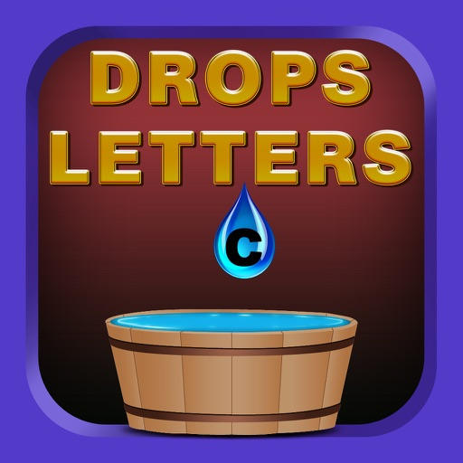 Drops Letters icon