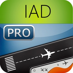 Washington Dulles Airport Pro (IAD/DCA/BWI) Flight Tracker Radar