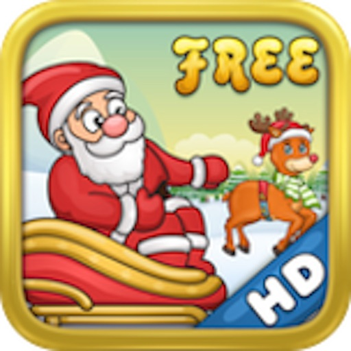 Jolly Journey HD Free - Santa Claus Christmas Winter Adventure on Xmas Eve