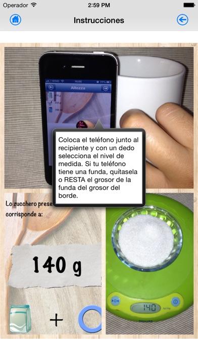 Screenshot for Balanza de cocina in Argentina App Store