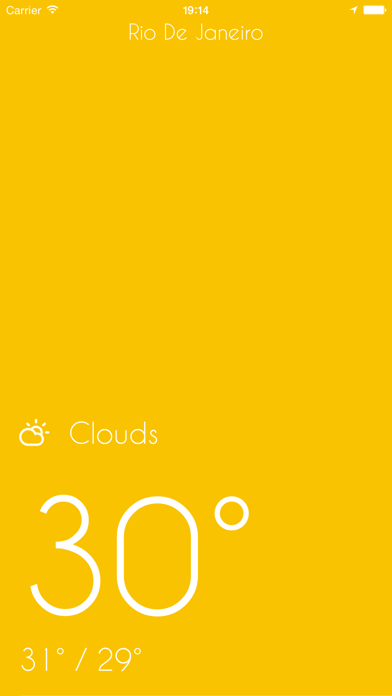iWeather - Minimal, simple, clean weather appのおすすめ画像3