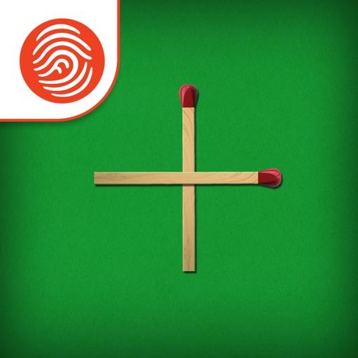 Matchsticks Math Puzzle - A Fingerprint Network App