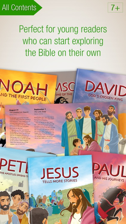 Explorer's Bible Premium – 24 easy-to-read Bible Books and Audiobooks to explore the Bible