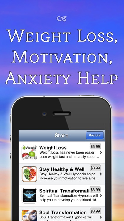 Weight Loss, Work Out Motivation, Confidence Boost Hypnosis Bundle with Alarm Clock, Music, Meditation and Subliminal screenshot-4