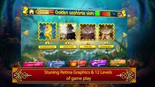 Golden seahorse progressive slotmachine: deep ocean adventure with plenty of treasure! screenshot three