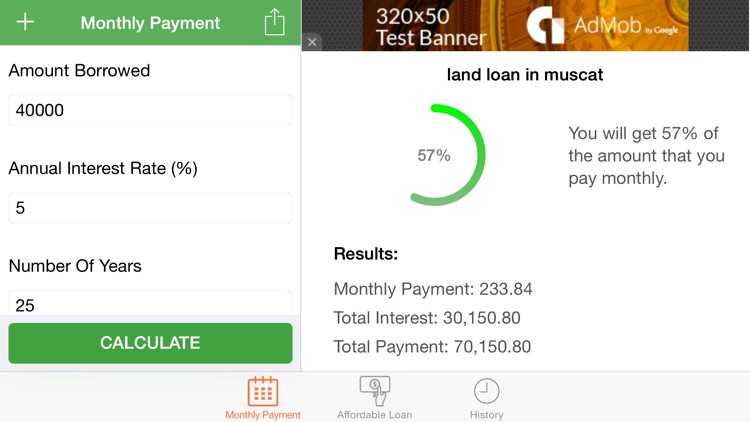 Loans Calculator and Manager screenshot-0