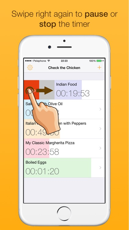 Check the Chicken - A cooking timer for your kitchen screenshot-3