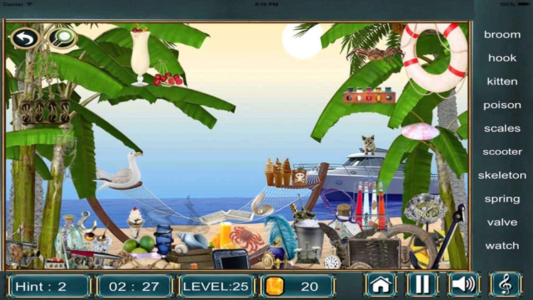 Hidden Objects Games For Free