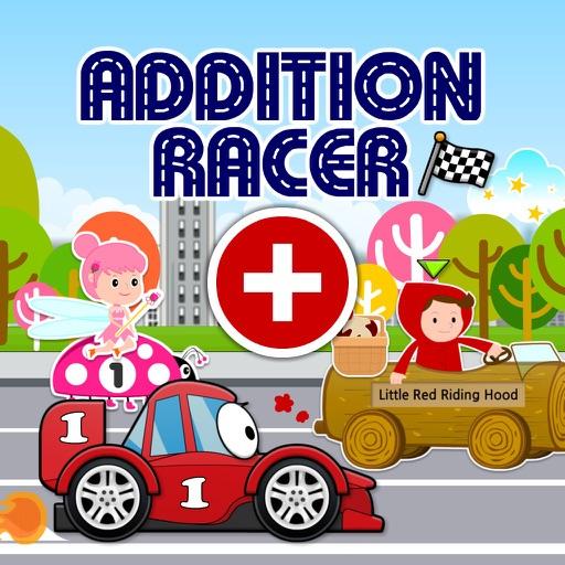 Addition Racer: Hot Cars, Fast Fairies & Fairy Tale Dash HD