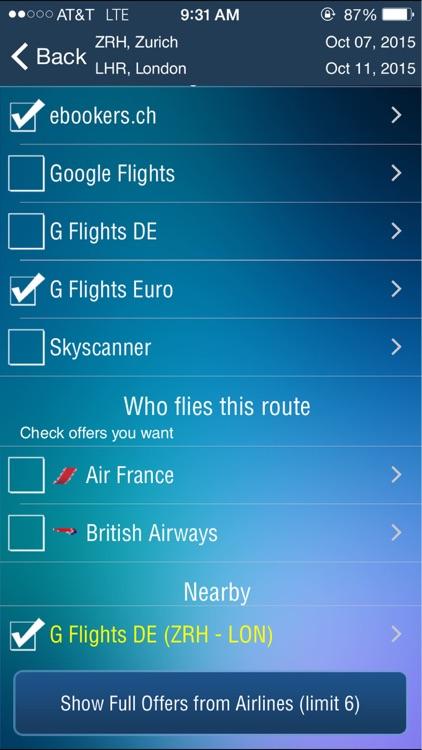 Zurich Airport (ZRH) Flight Tracker screenshot-3