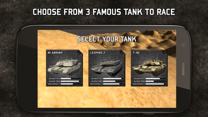 Tank Racing Simulator: M1A2 Abrams vs Leopard vs T-90屏幕截圖2