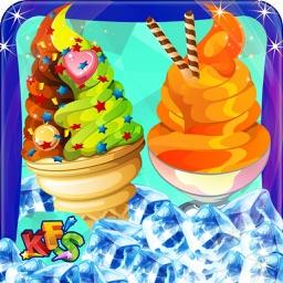Beach Ice Cream Maker – Make frozen dessert in this chef cooking game for kids
