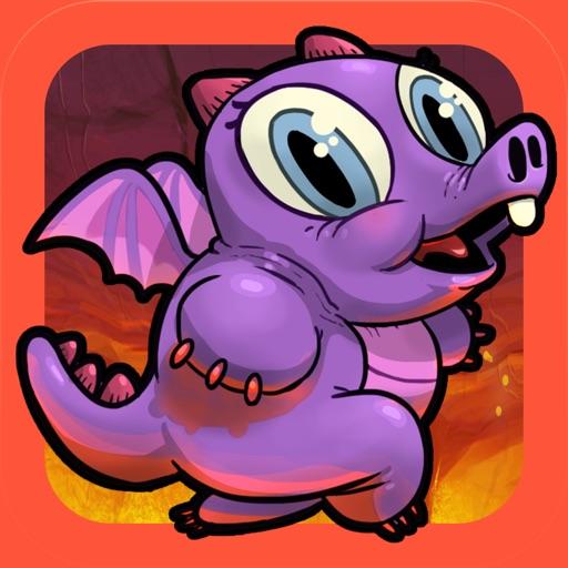 Run Dragon Baby - Бесплатный Лава Перейти на издание Магия самоцветов