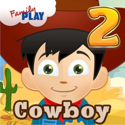 Cowboy Kid Learning Games for Second Grade Boys and Girls School Edition