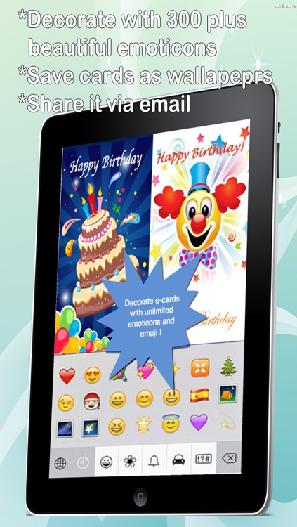 The Ultimate Happy Birthday Cards (Lite Version). Custom and Send Birthday Greetings eCard with emoji, text and voice messages screenshot-3