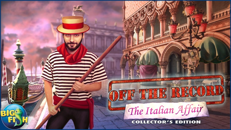 Off the Record: The Italian Affair - A Hidden Object Detective Game screenshot-4