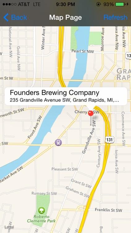 Michigan Brewery Beer Finder screenshot-4