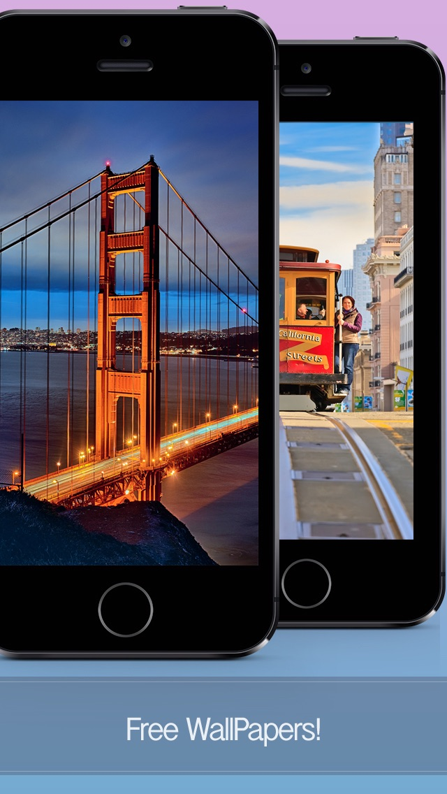 San Francisco Wallpapers & Backgrounds - Best Free Travel HD Pics of One of World's Great Cities screenshot one