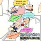 Aulas de Ocupação de aprendizagem de Inglês para Crianças: falar para a criança pré-escolar. icon