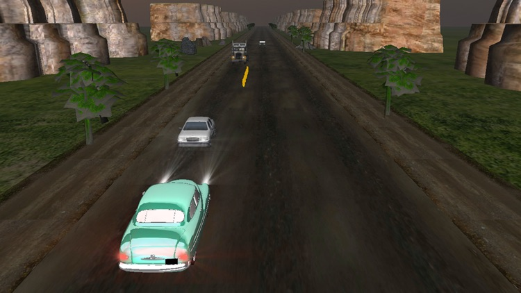 Classic Car Traffic Racer - Real Car Smash Driving Simulator Racing Game screenshot-4