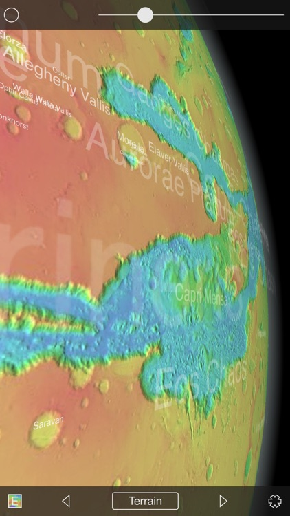 Mars Globe HD screenshot-3