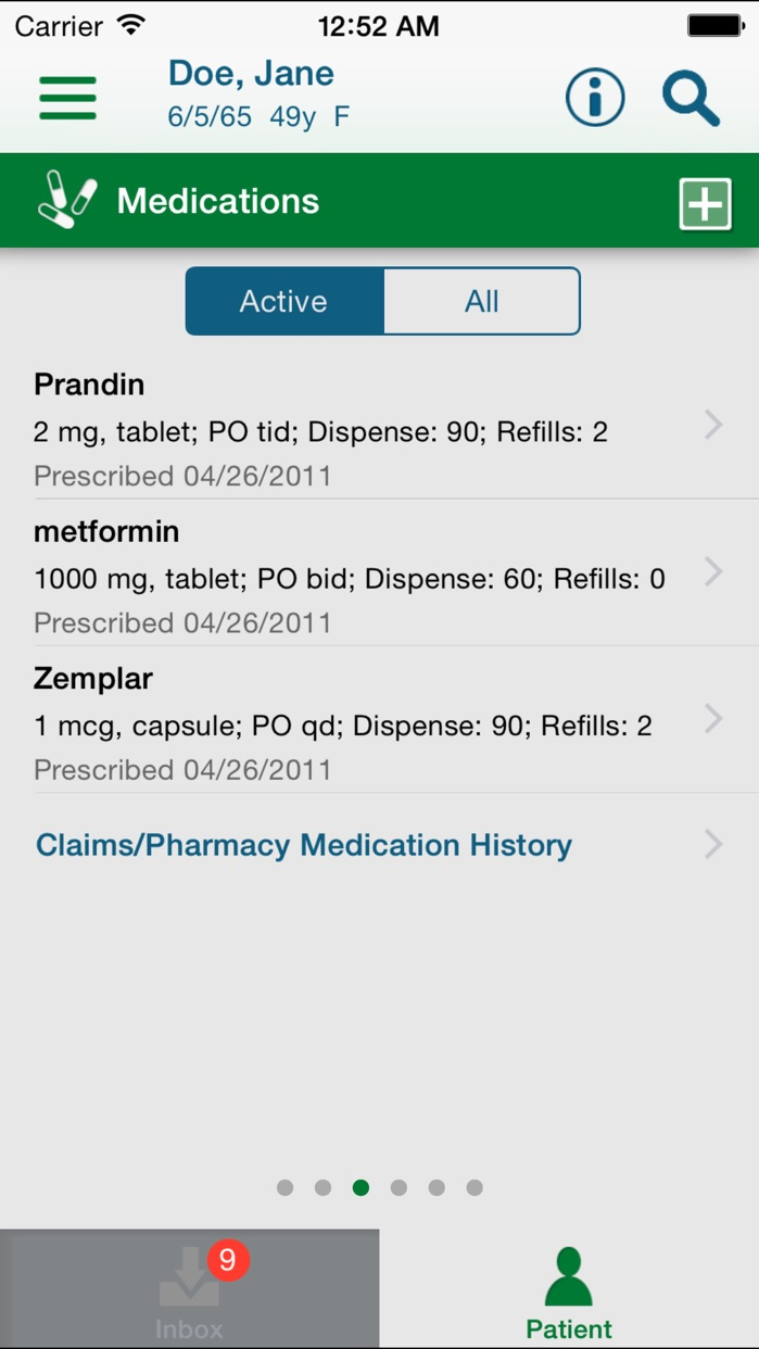 Care360 Mobile for Physicians and Providers Screenshot