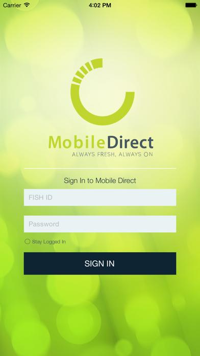 Canteen Mobile DirectScreenshot of 2