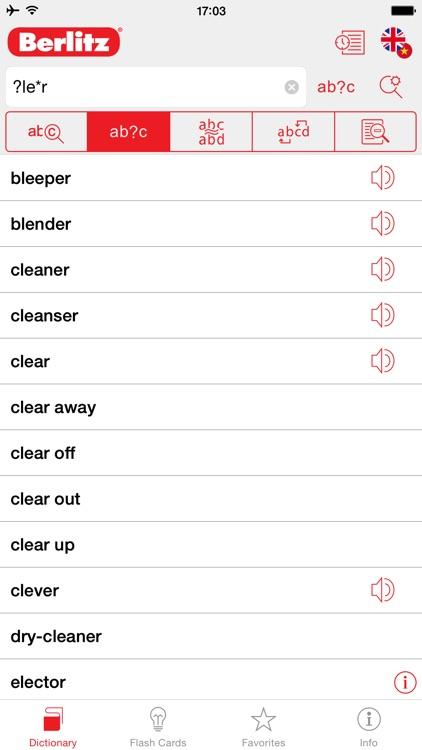 English - Vietnamese Berlitz Basic Dictionary screenshot-3