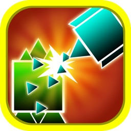 A Geometry Killer Gun - Smash The Boom Figures For An Insanity War 3D PRO
