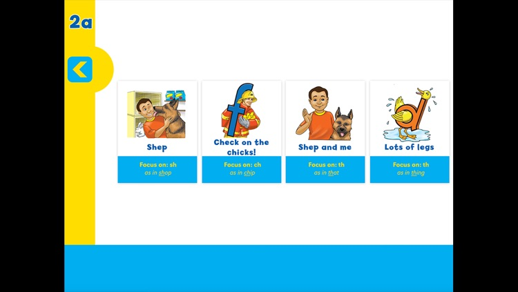 Letterland Phonics Readers Set 2 screenshot-2