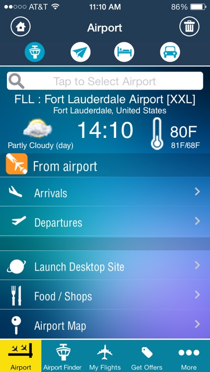 Fort Lauderdale Airport (FLL) Flight Tracker Hollywood radar screenshot-1