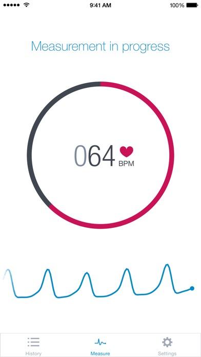 Screenshot #1 for Runtastic Heart Rate PRO