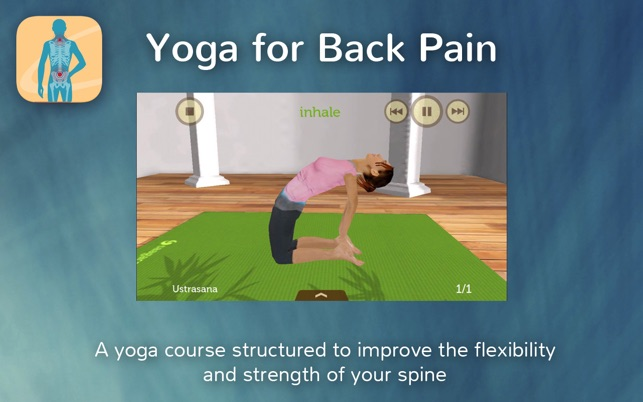 Yoga for Back Pain Relief Screenshot