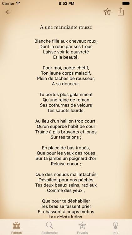 Poésie Français screenshot-3