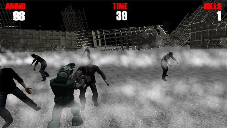 Zombie Road Mission screenshot-4