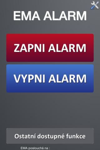 EMA Alarm - náhled