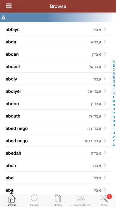 ヘブライ語聖書辞典のおすすめ画像1