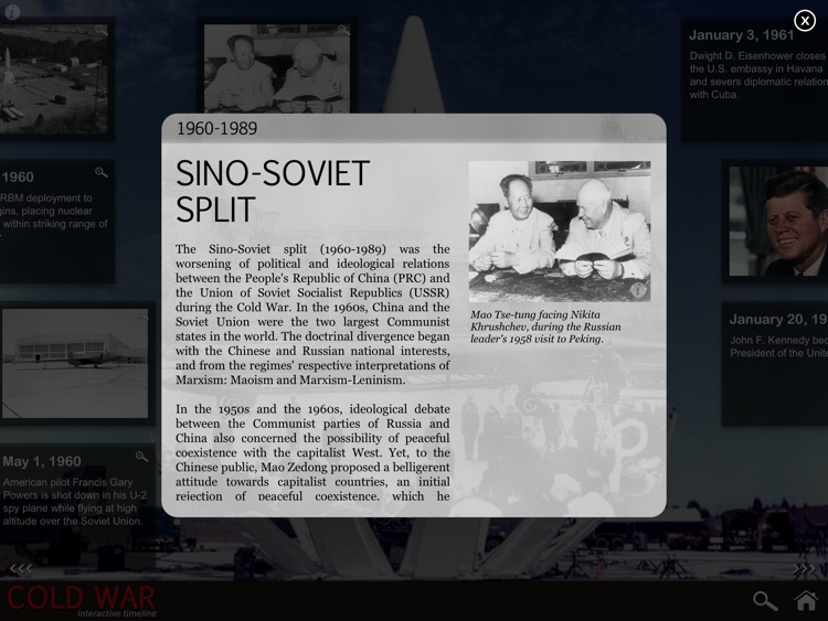 Cold War Interactive Timeline (Full Version) screenshot-2