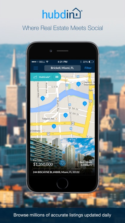 Hubdin Real Estate Search - Homes for Sale and Apartments for Rent App
