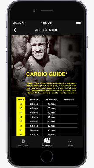 Like A Pro Bodybuilder - Bodybuilding app & workout plans by IFBB Pro Jeff Longのおすすめ画像5