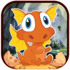 A Cute Little Egg Dragons Reach To Taste Their Stinky Targets in the Woods Free icon