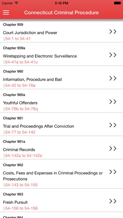 Connecticut Criminal Procedure